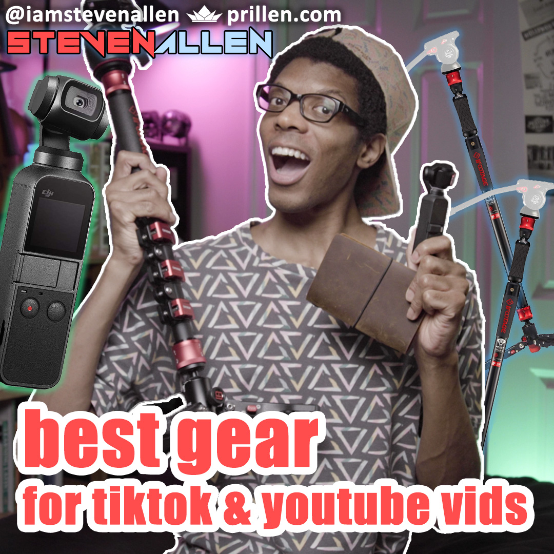 Best Gear For Making TikTok And YouTube Videos