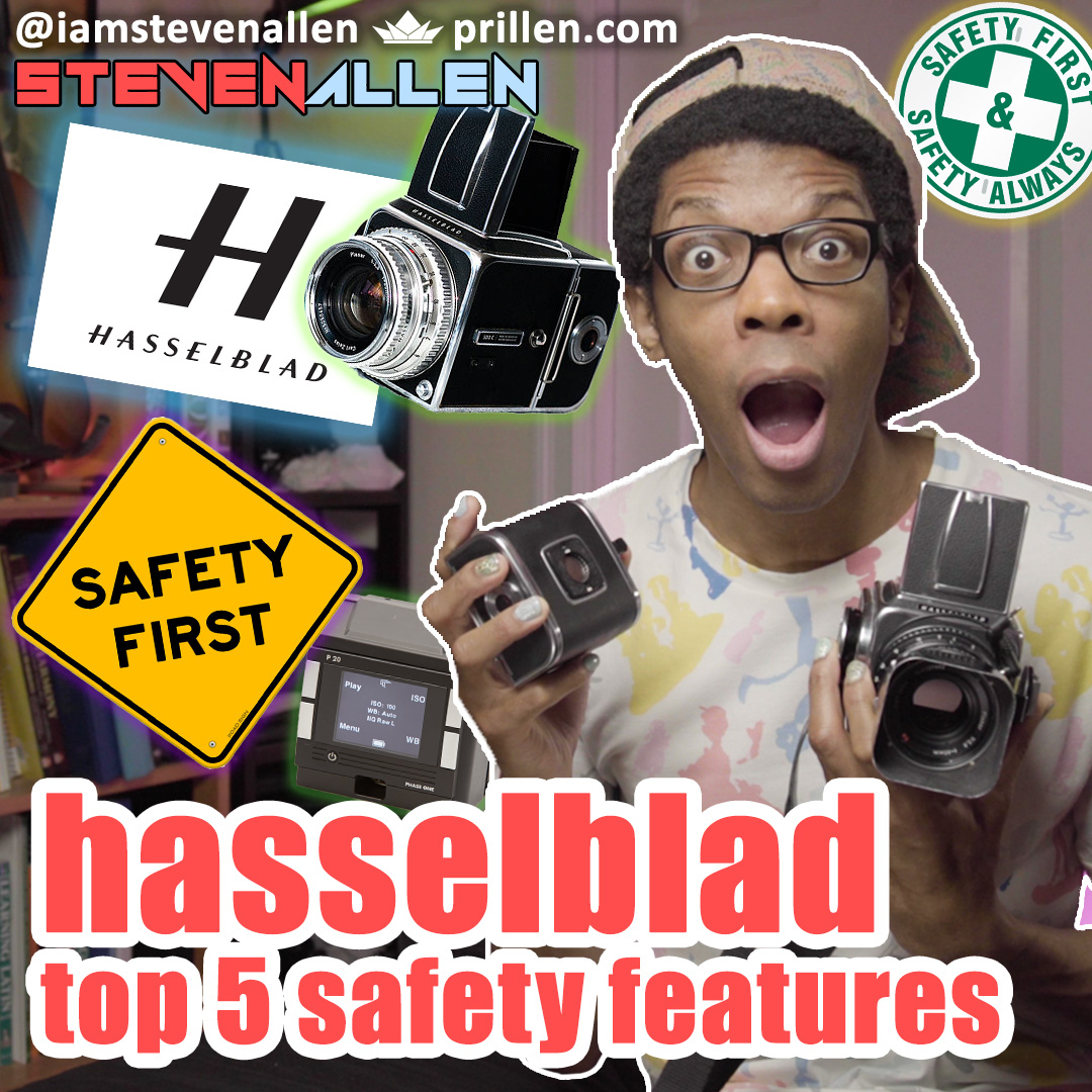 Hasselblad 500CM Safety Features