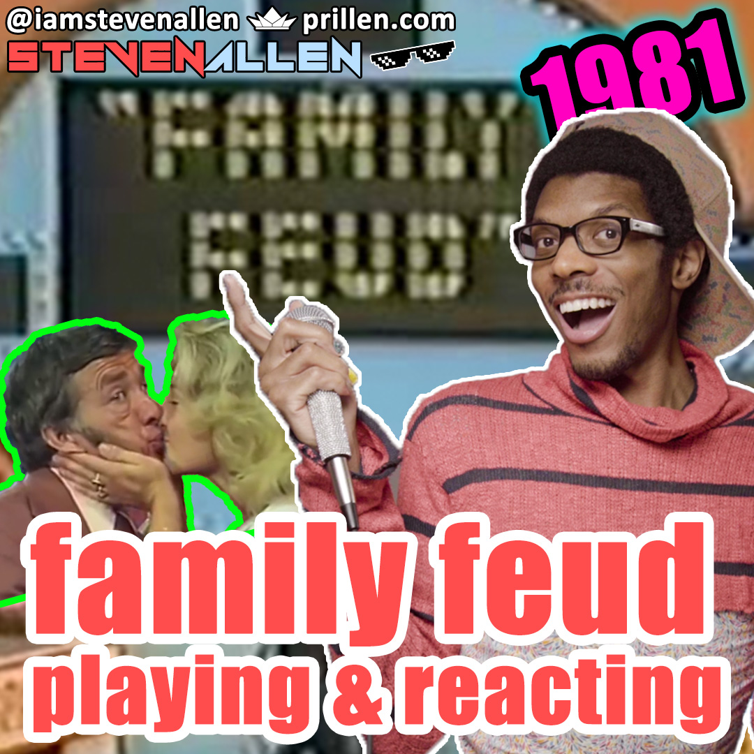 Playing & Reacting to Family Feud from 1981