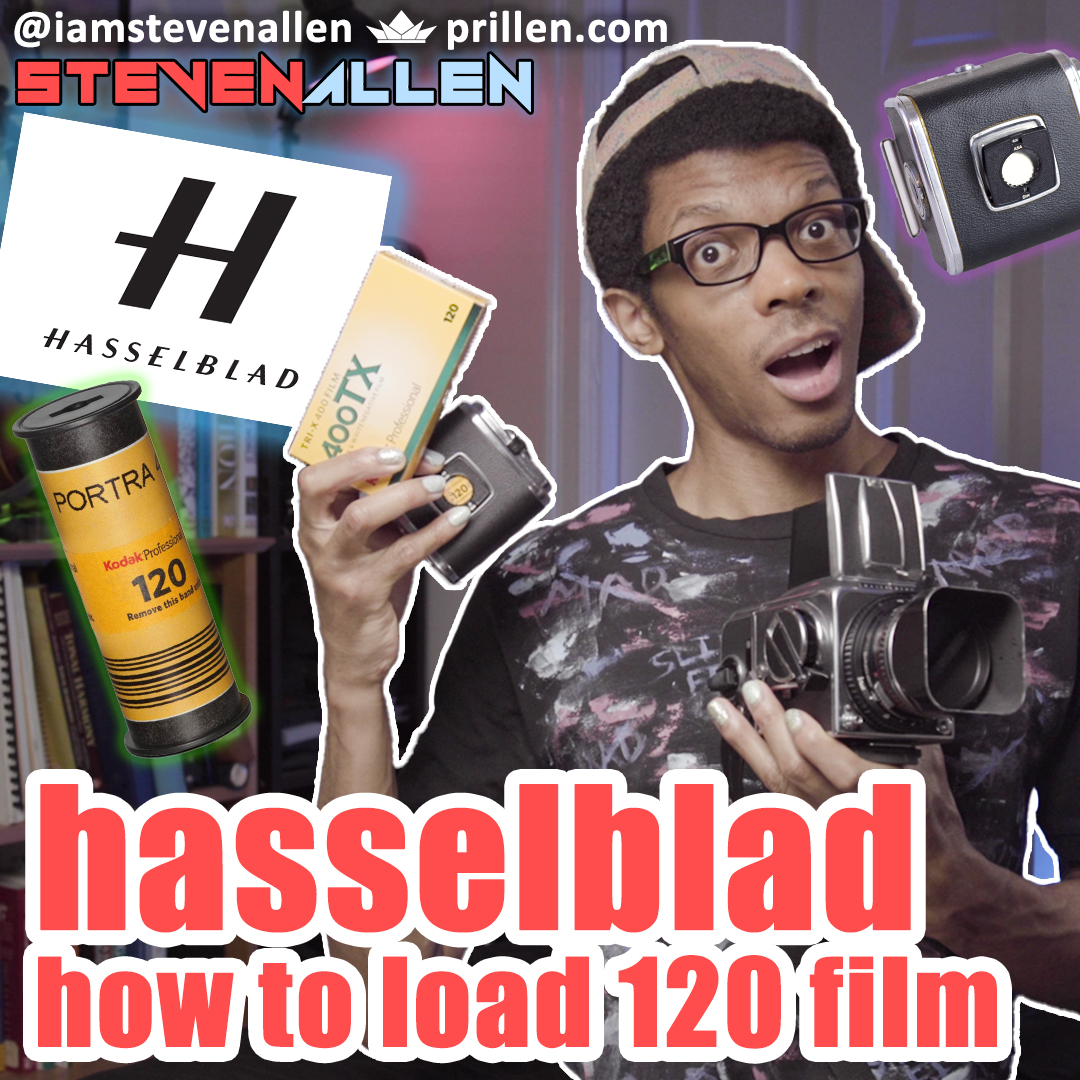 How To Load 120 Film into Hasselblad 500CM 220 Film Back