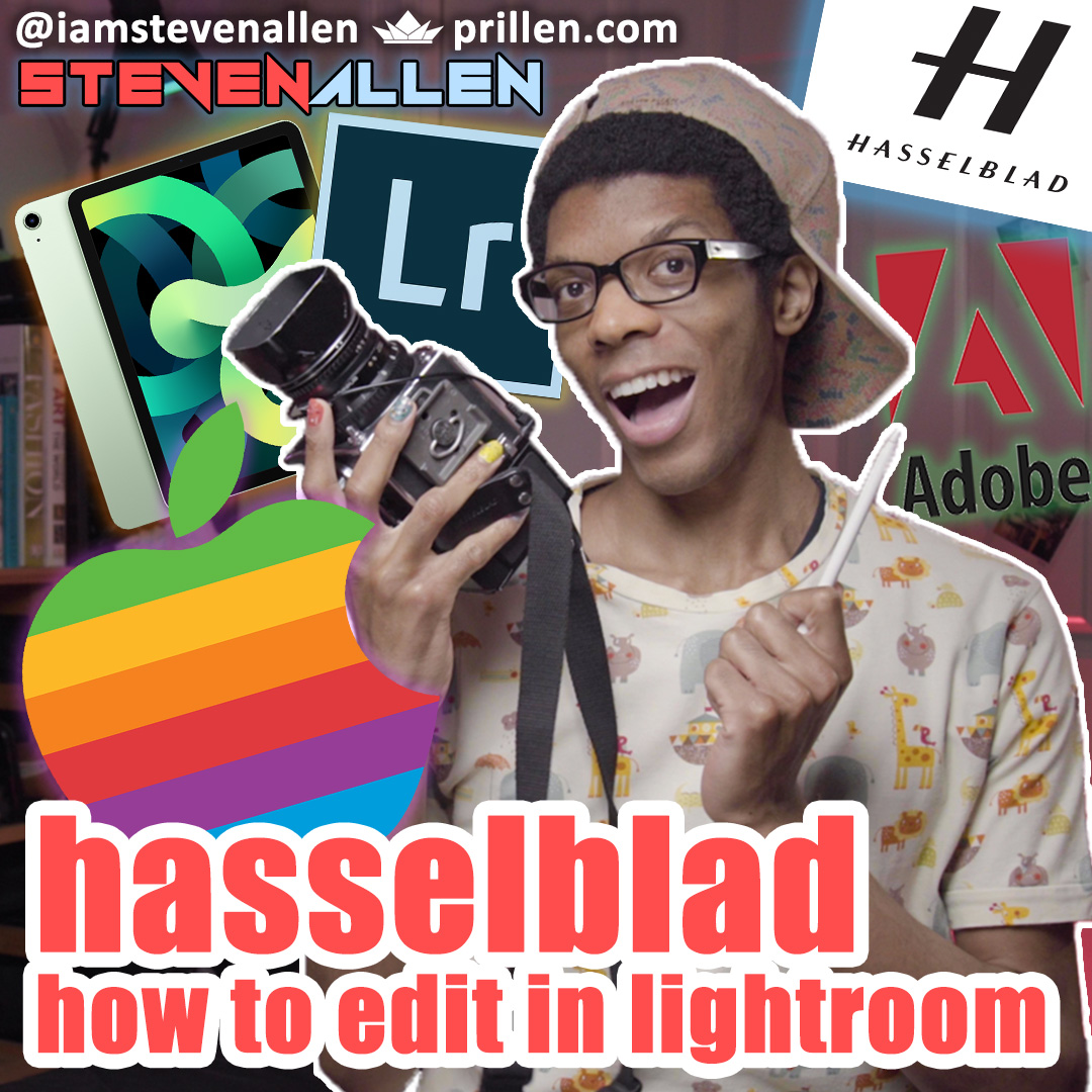 How To Edit A Hasselblad 500CM Photo In Lightroom