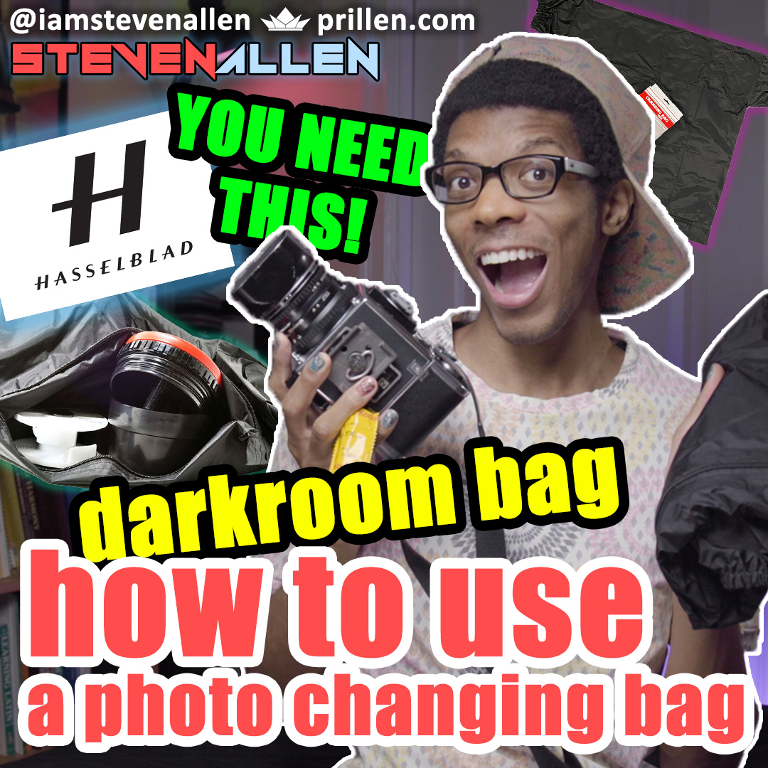 How To Use A Photo Changing Bag