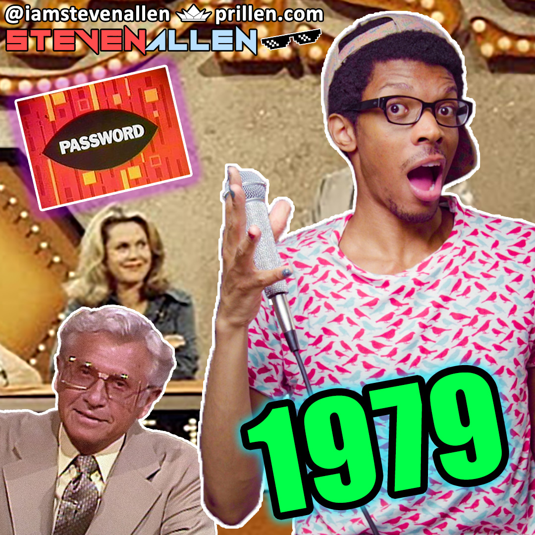 Playing & Reacting To Password Plus from 1979