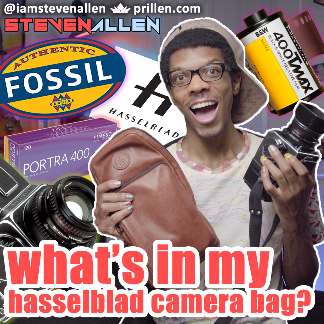What's In My Bag? – Hasselblad 500CM Camera Bag Edition