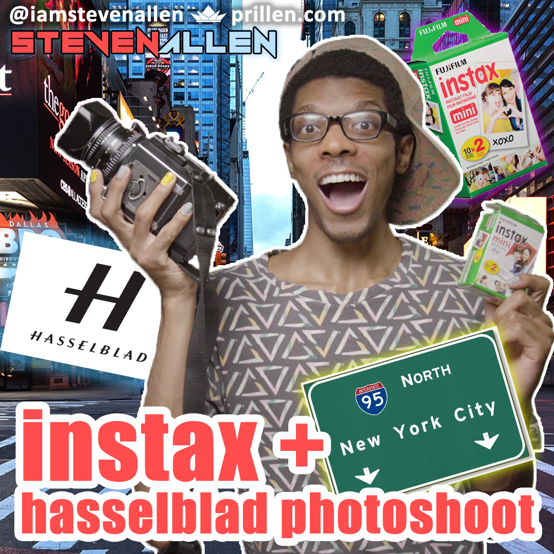 Instax & Hasselblad Photoshoot in NYC