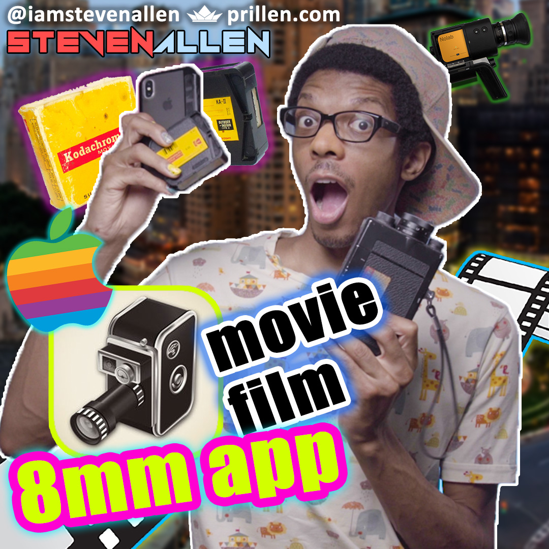 iPhone Android 8mm App Review – NYC – Super 8, Regular 8 & 16mm Film