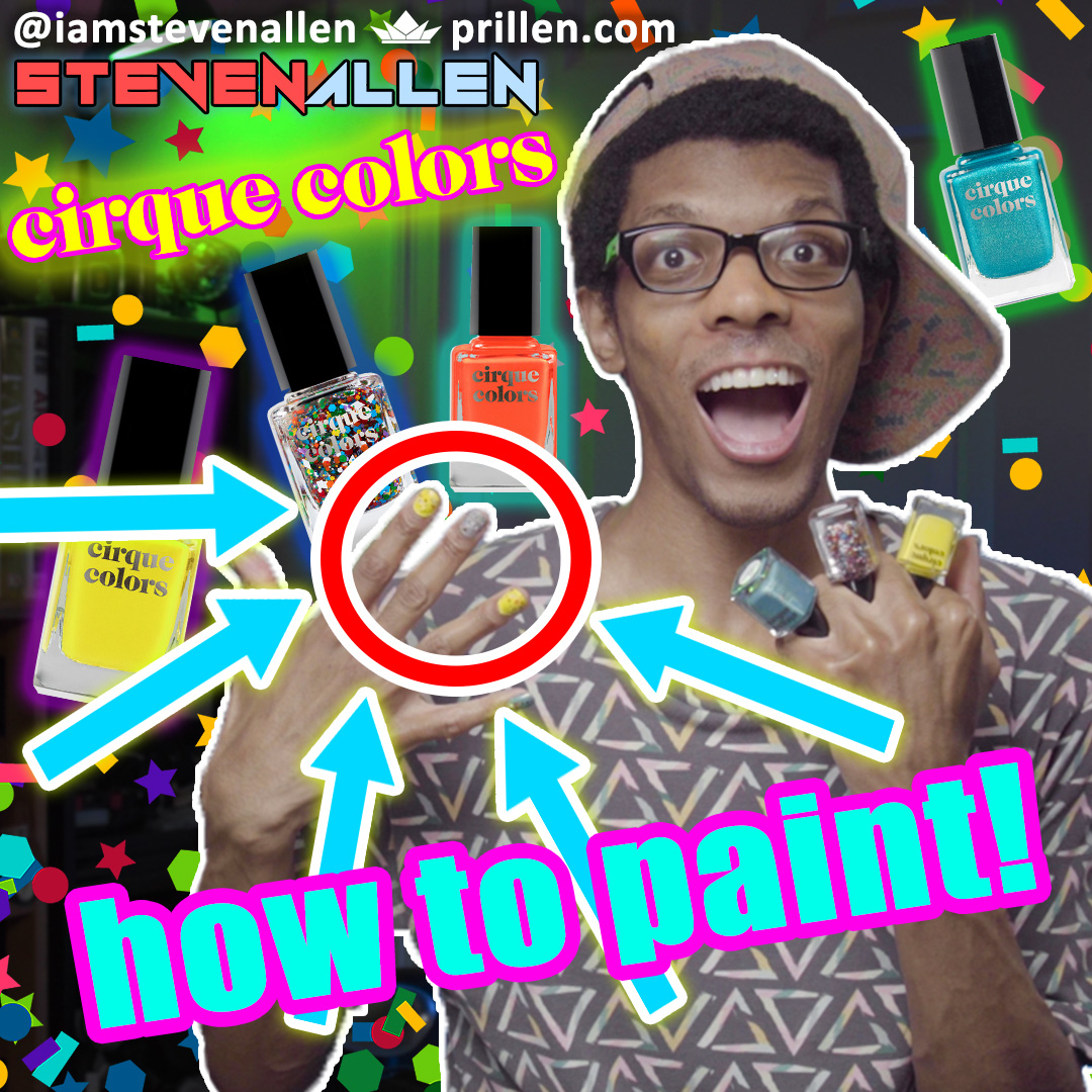 How I Paint My Nails – Cirque Colors Review & Mineral Fusion Remover