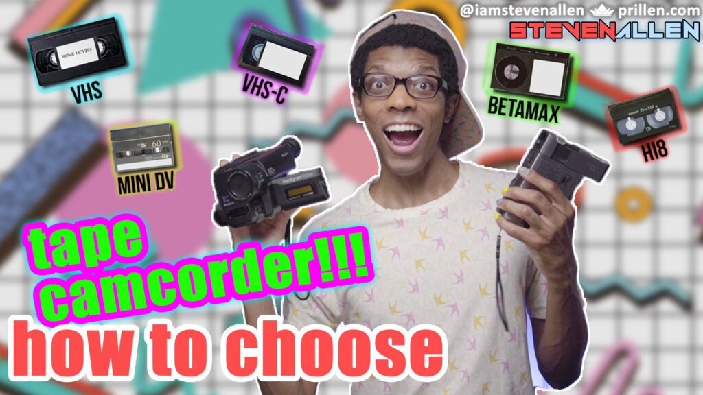 how to choose - tape camcorder
