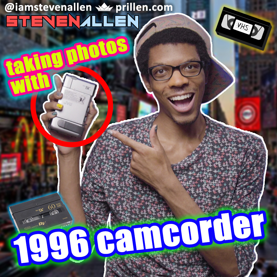 Taking Cool Photo Stills With A 1996 Camcorder – JVC GR-DV1