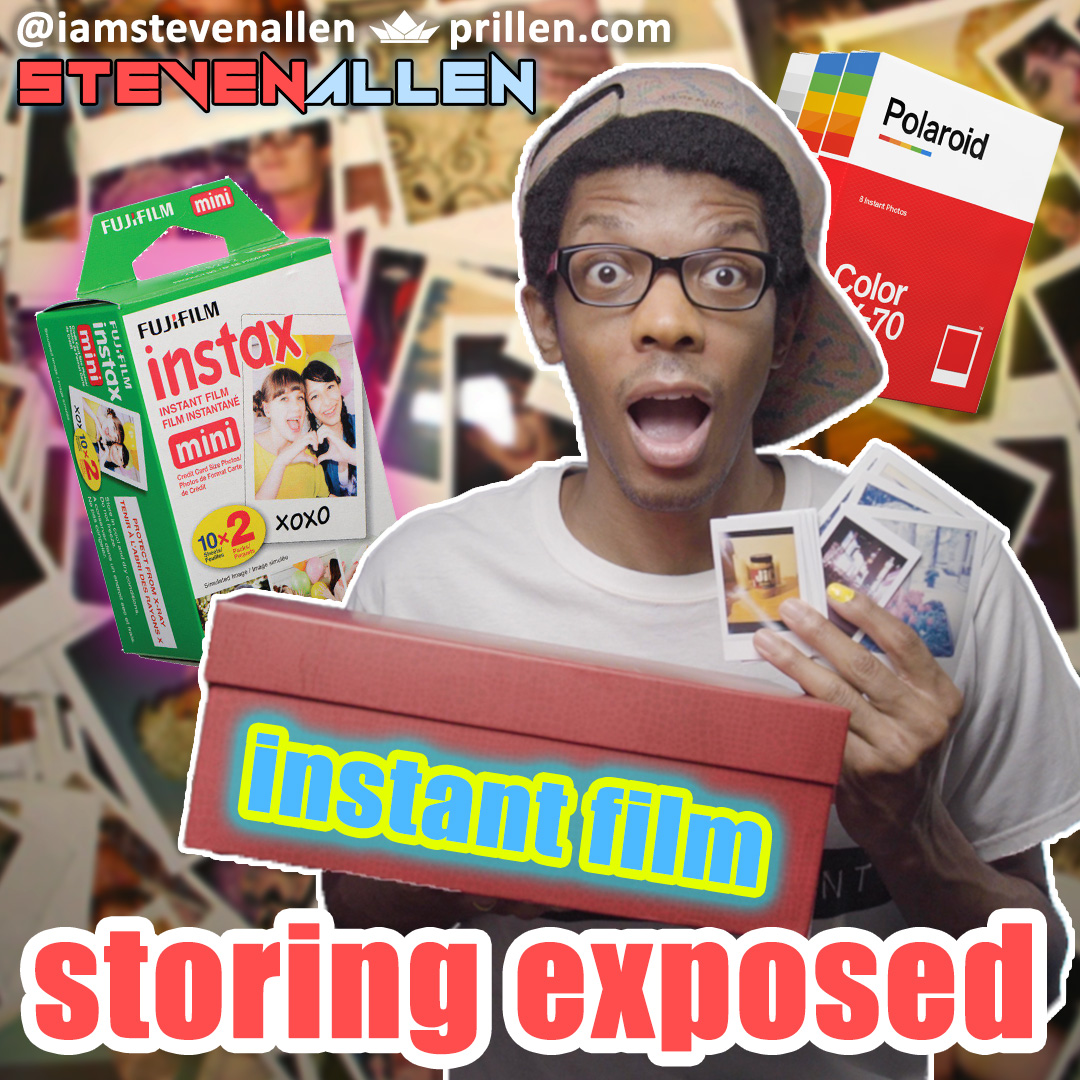Where To Store Exposed Instant Film – How To Keep It Safe